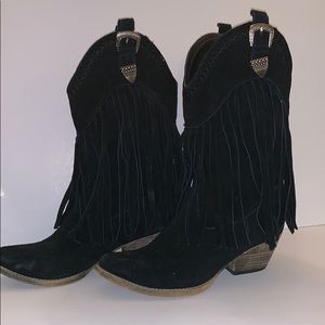 Very Volatile Shoes - Very Volatile Soft Leather Boots Size 8 1/2
